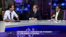 Entrevista a Pablo Iglesias en Vía V (V Televisión)[HDRip][2014]