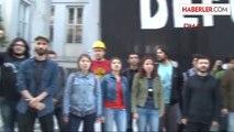 Mimar Sinan Güzel Sanatlar Üniversitesi'nde 'İtü'ye Destek Eylemi