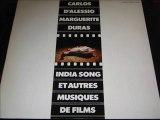 INDIA SONG - Carlos D'alessio - marguerite duras