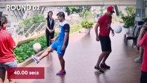 Le drôle de concours de jongles entre Ferdinand et Agüero