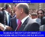 Ak Parti Genel Başkanı ve Başbakan Recep Tayyip Erdoğan nethabertv.org'unda bulunduğu Meclis bahçesinde Nevşehir Milletvekilleri ile buluştu