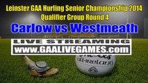 Watch Carlow vs Westmeath Game Live Online Stream Leinster GAA Hurling