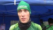 Pierre Rolland à l'arrivée de la 8e étape du Tour d'Italie - Giro d'Italia 2014