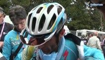 Michele Scarponi à l'arrivée de la 8e étape du Tour d'Italie - Giro d'Italia 2014