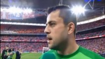Lukas Fabianski Interview after FA Cup Final Win