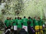 Le Chaudron fête les Verts