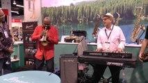 Jazz Session Trumpets Saxophones Organ - Jon Hammond NAMM Show