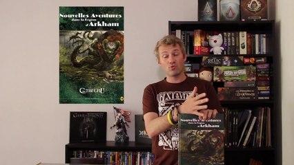 Critique - L'Appel de Cthulhu : Nouvelles Aventures dans la région d'Arkham