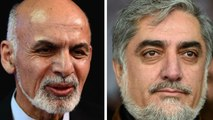 Top afghan candidates preparing for run-off