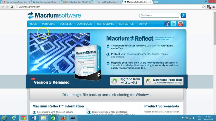 Top 5 Best Free BackUp Software for Windows