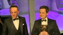 TV Baftas winners interview: Ant and Dec on their two wins