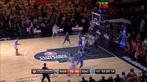 Championship Game Magic Moment: Crucial block by Alex Tyus, Maccabi Electra Tel Aviv