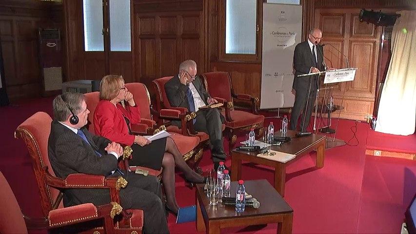 Discours de Didier Migaud à la Conférence de Paris