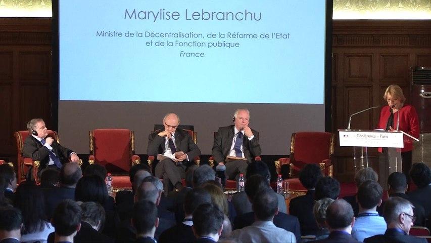 Discours de Marylise Lebranchu à la Conférence de Paris