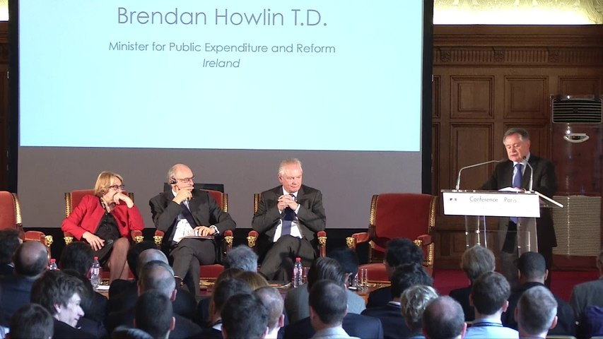 Discours  de Brendan Howlin à la Conférence de Paris