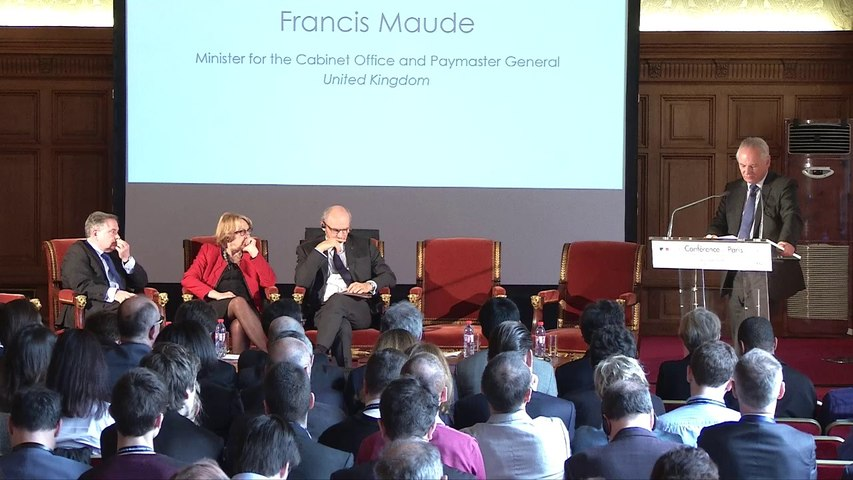 Discours de Francis Maude à la Conférence de Paris