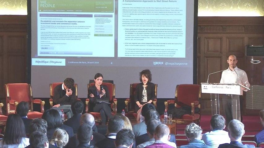 Lancelot Pecquet, projet République Citoyenne à la Conférence de Paris