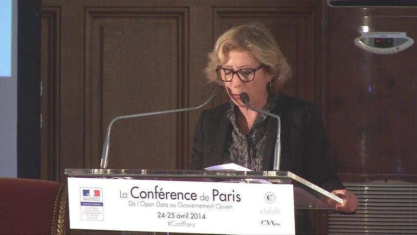 Discours de Geneviève Fioraso à la Conférence de Paris