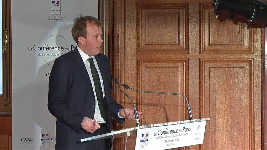 Joseph Powell pour l'Open Government Partnership à la Conférence de Paris