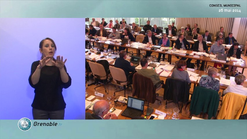 Conseil Municipal de la Ville de Grenoble - 26 mai 2014
