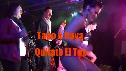 Anthracite cover Tapo & Raya - Quitate el top @ orchestre variété 0324332310