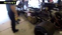 Entrevista a Katsu Kubota - Lotus 72 F1 historica en Espiritu del Montjuic - PRMotor TV (HD)