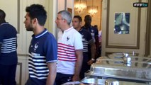 Equipe de France : arrivée des 9 premiers joueurs à Clairefontaine 20 joueurs