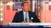 François Barrault et Didier Lombard, dans Le Grand Journal - 19/05 4/4
