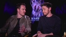 Michael Fassbender & James McAvoy Interview - X-Men- Days of Future Past (2014) JoBlo.com HD