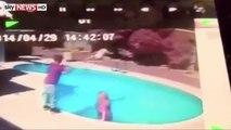 Il jette son bébé de 23 mois dans la piscine pour le punir