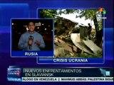 Ucrania: se reanudan enfrentamientos en Slaviansk