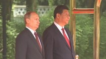 Putin arrives in China for summit