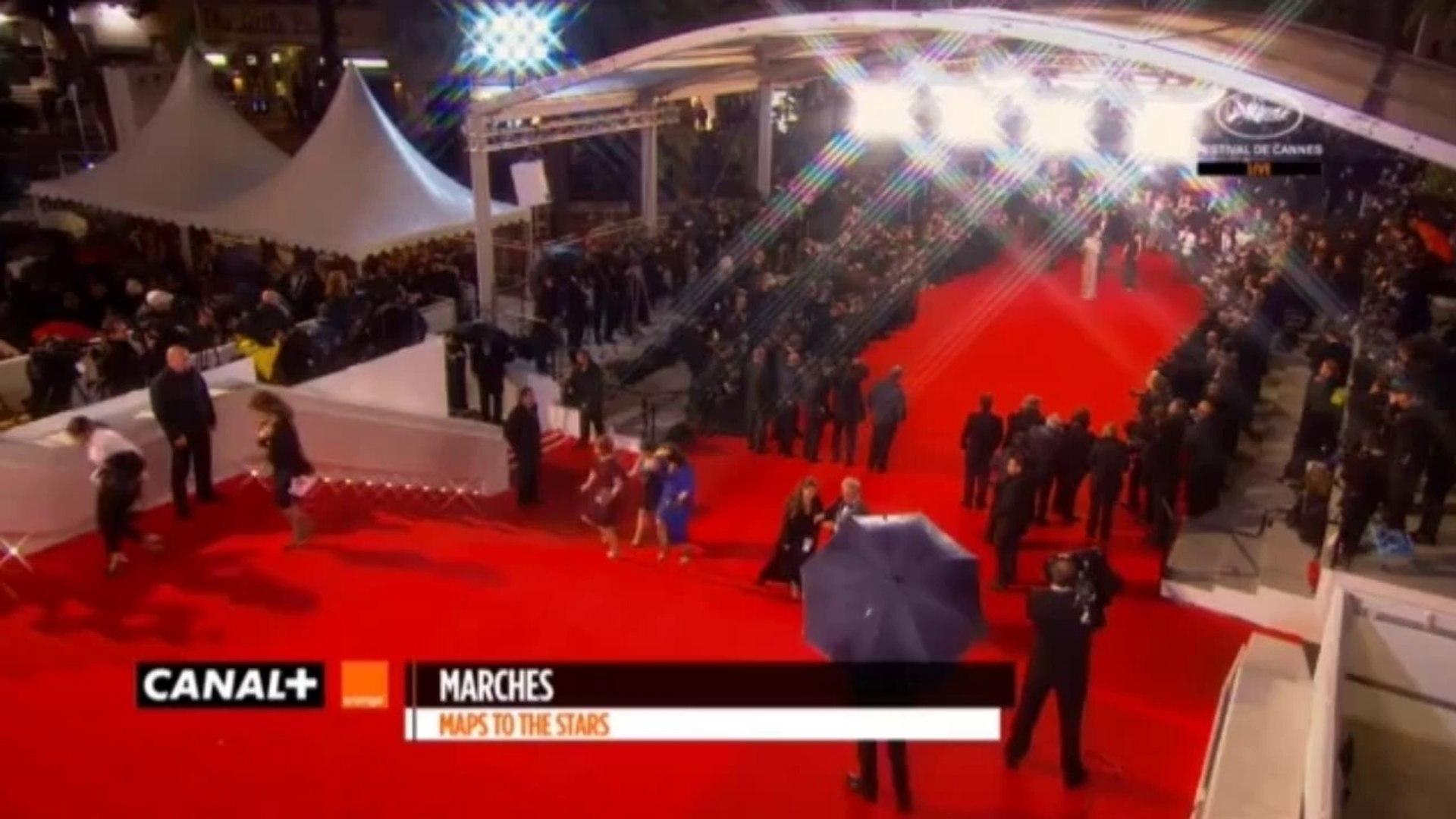 19|05|2014 Interview of Robert Pattinson on Red Carpet MTTS Premiere