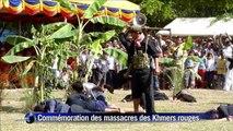 Les Cambodgiens commémorent les massacres des Khmers rouges