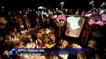 Colombia vela a niños muertos en accidente de autobús