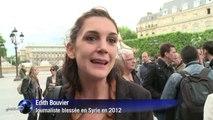 A Paris, l'hommage de ses confrères à Camille Lepage