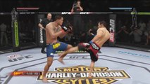 EA Sports UFC - Jose Aldo vs. Anthony Pettis Gameplay