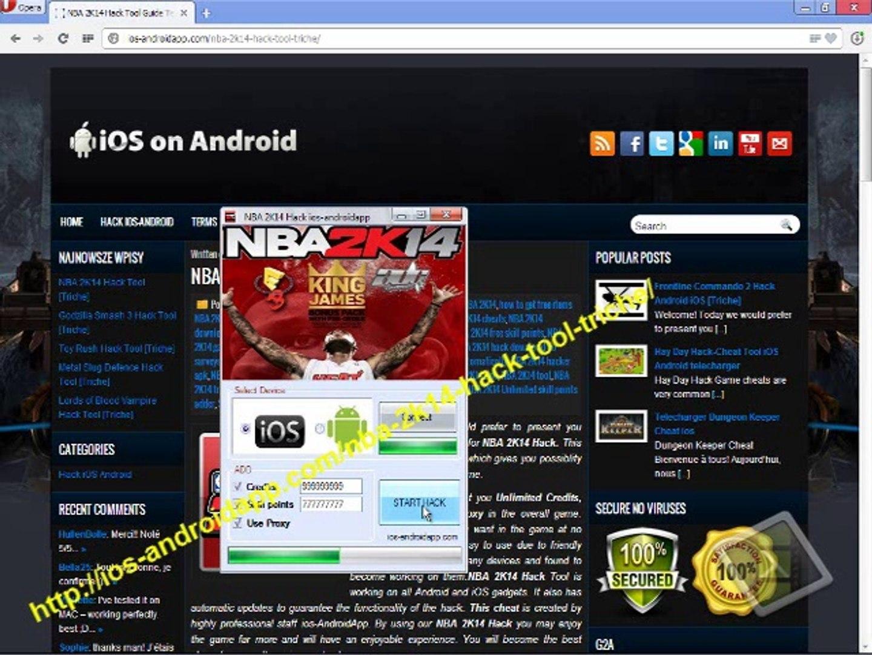 NBA 2K14 Hack Tool [Triche] Telecharger gratuit