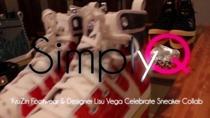 'KruZin Footwear & Designer Lisu Vega Celebrate Sneaker Collab