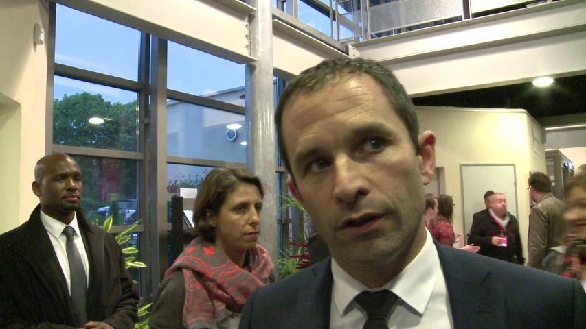 Interview de Benoit Hamon - grand meeting européen de Limoges 20 mai 2014