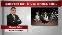 Ruşen Çakır : Soma'dan tabii ki Gezi çıkmaz, ama...