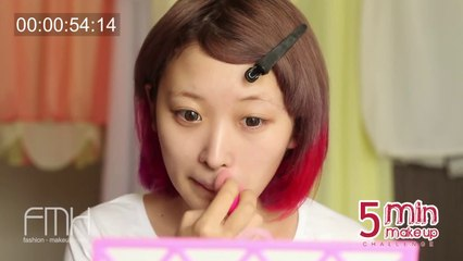 5分メイクチャレンジ!5 Minute Makeup Challenge!!