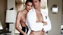 Cristiano Ronaldo HOT With Topless Irina Shayk