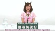 [TEPPEN] 37th Sousenkyo Appeal - Watanabe Miyuki