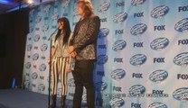 Caleb Johnson and Jena Irene press conference American Idol finale May 20, 2014