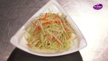 Cuisine Chinoise - Comment cuisiner une salade de chayotte
