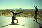 Red Bull Air Race and BC One come to Vegas - Breakdance & Aerobatic