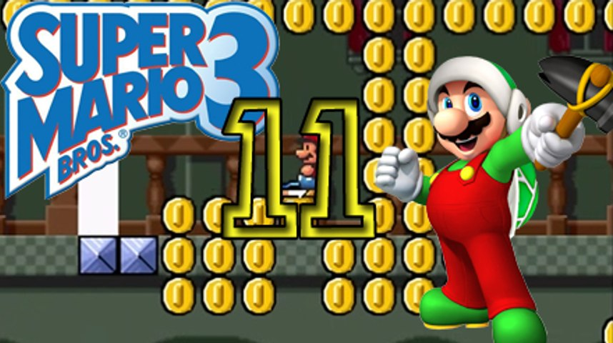 German Let's Play: Super Mario Bros 3 (Allstars), Part  11