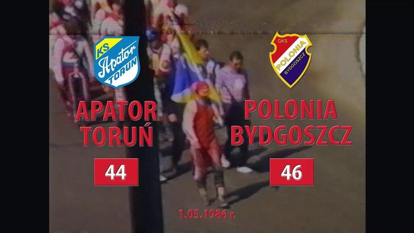 01.05.1986 Apator Toruń - Polonia Bydgoszcz 44:46 (4 runda DMP)