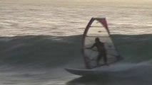Josh Angulo windsurfing Ponta Preta wave in Cabo Verde - Windsurf
